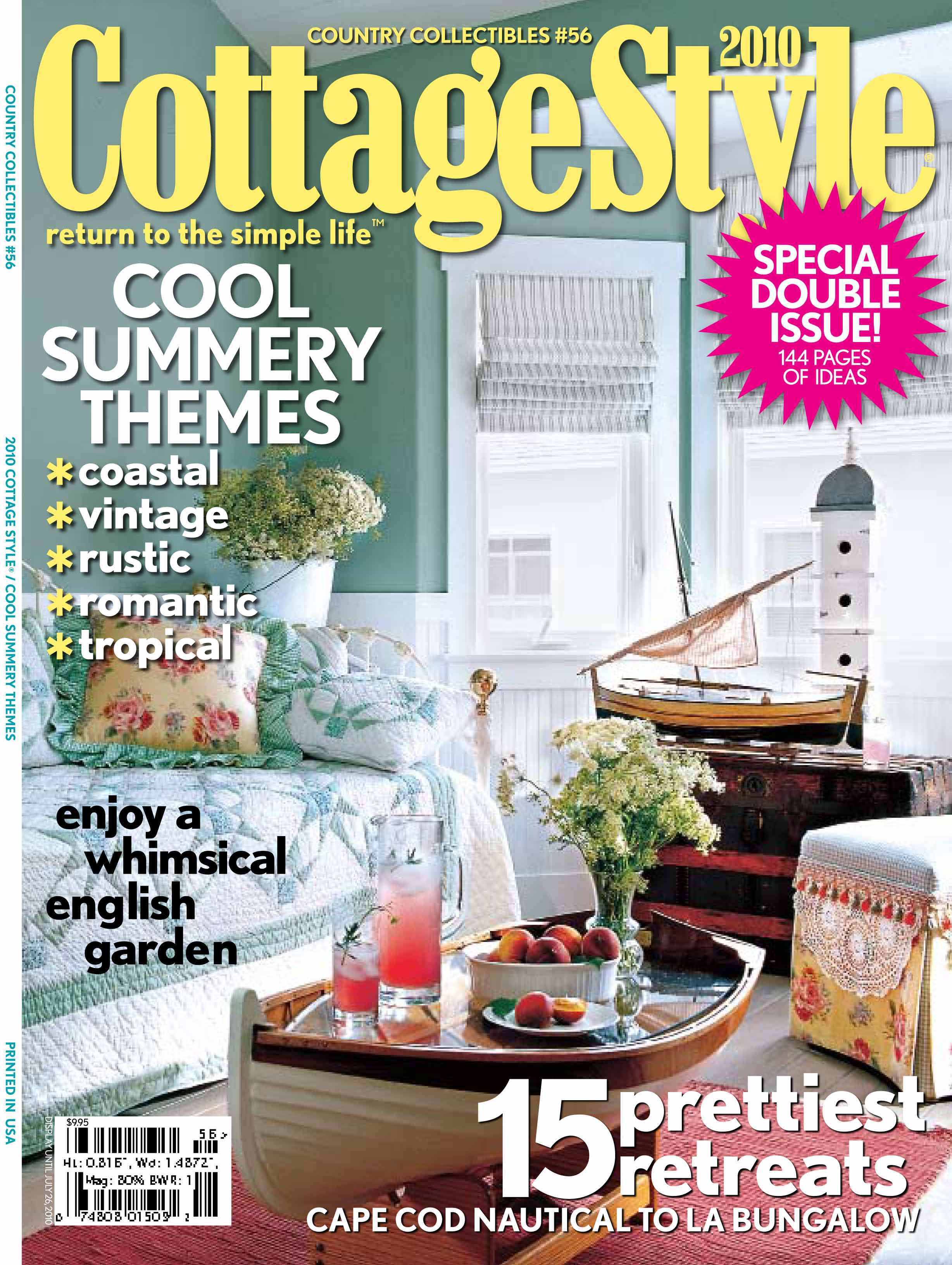100 cottage style magazine 4 home reno before for Home and cottage magazine